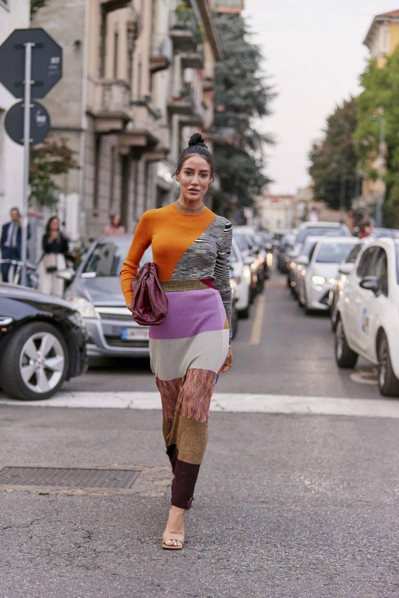Milano Fashion Week Streetstyle SS20. Tamara Kalinic.
