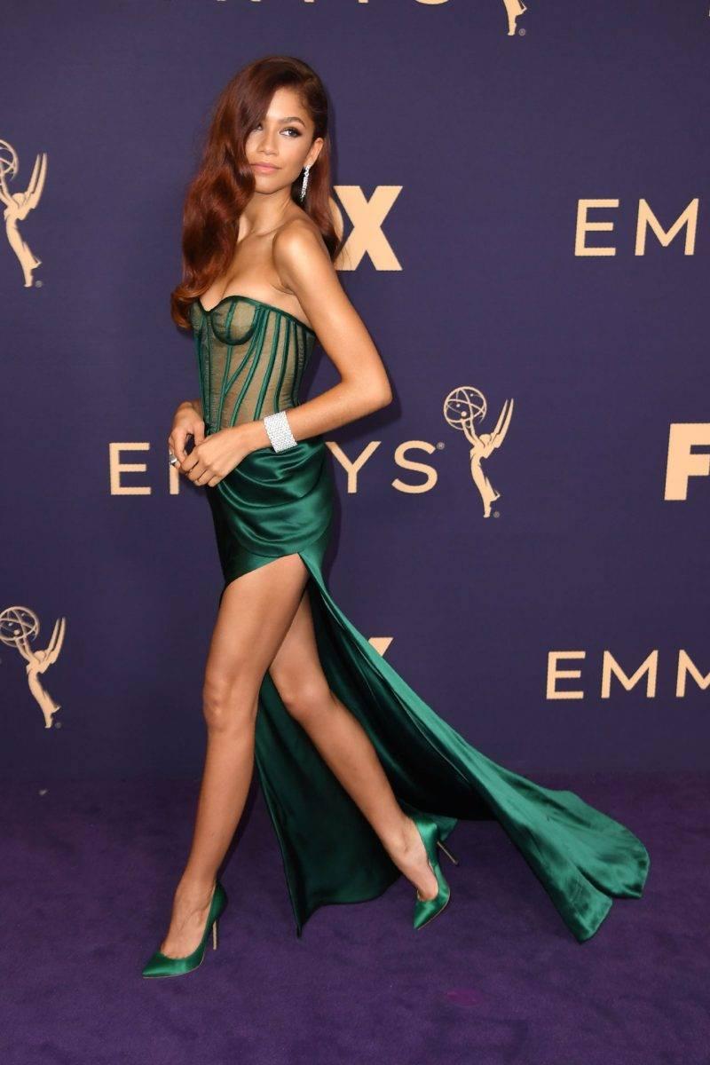 Zendaya på röda mattan på Awards 2019