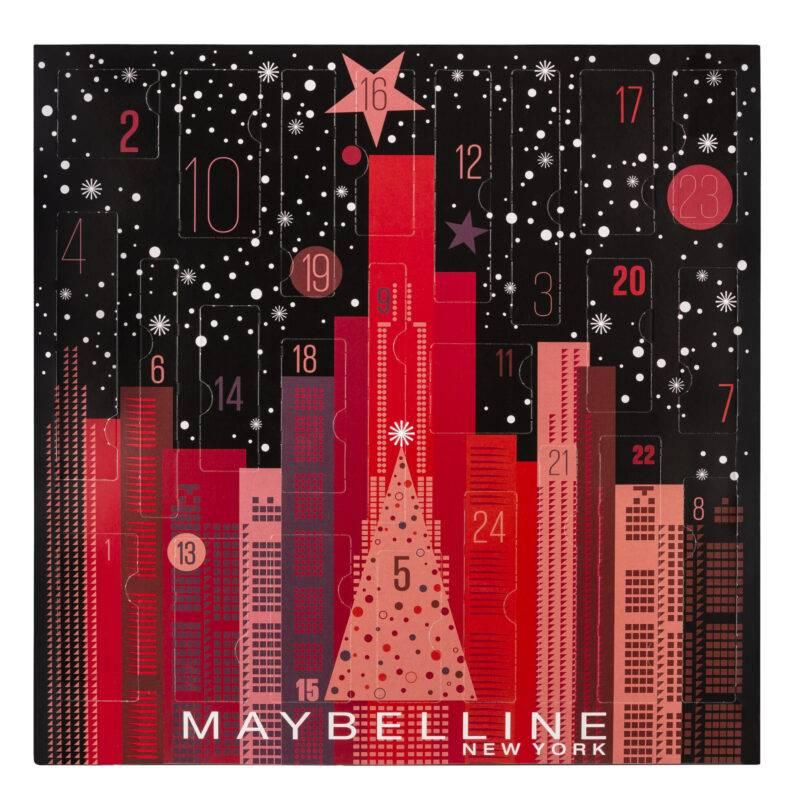 Maybellines adventskalender 2019.