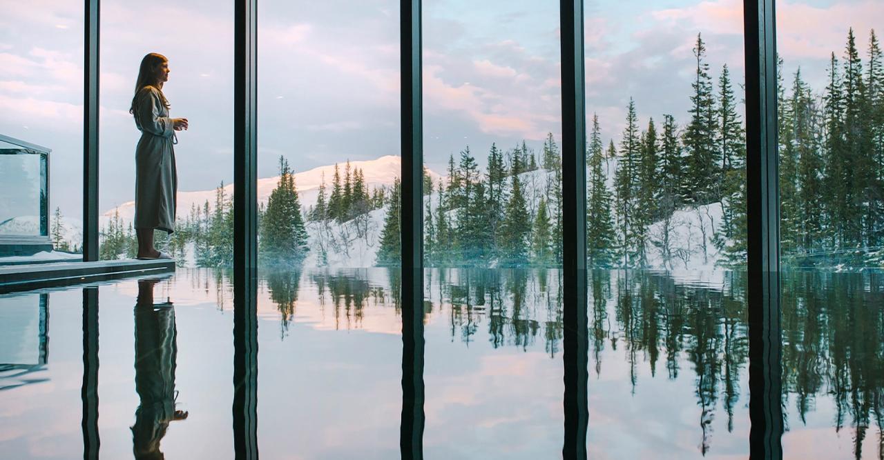 8 romantiska spahotell du kan åka till i vinter