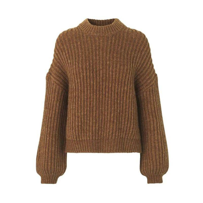 Stickad tröja frånSamsøe Samsøe.