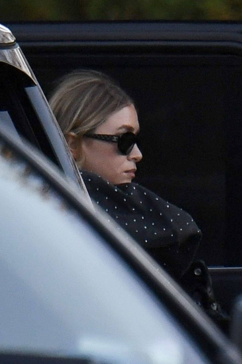 Ashley Olsen på Jennifer Lawrence bröllop