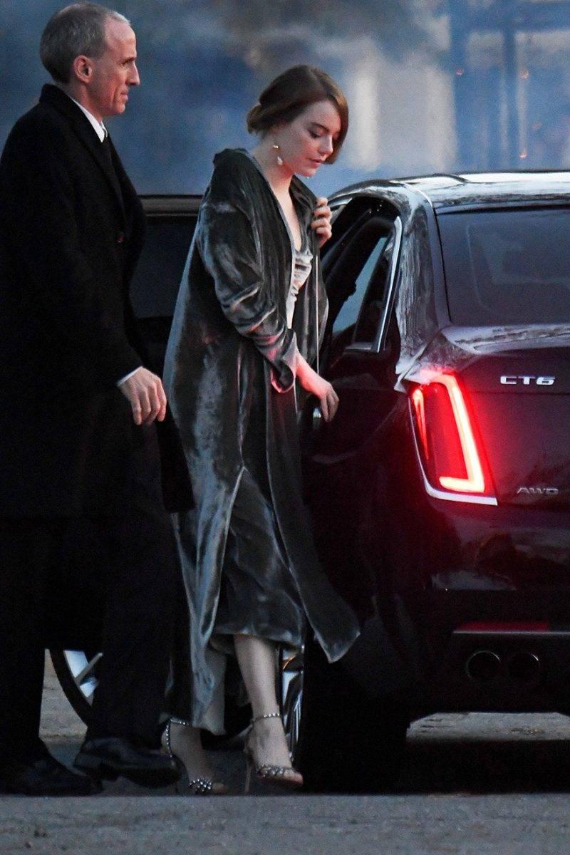Emma Stone på Jennifer Lawrence bröllop