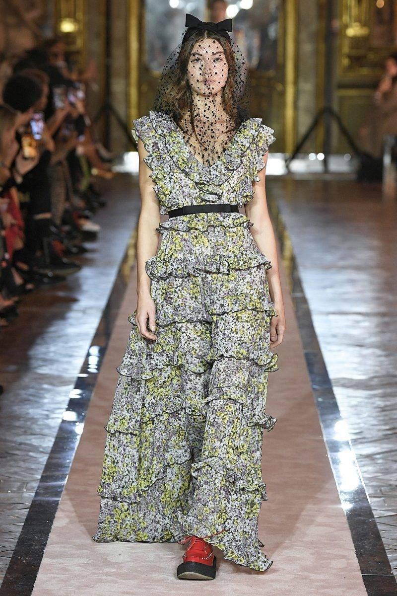 Blommig långklänning Giambattista Valli x H&M.
