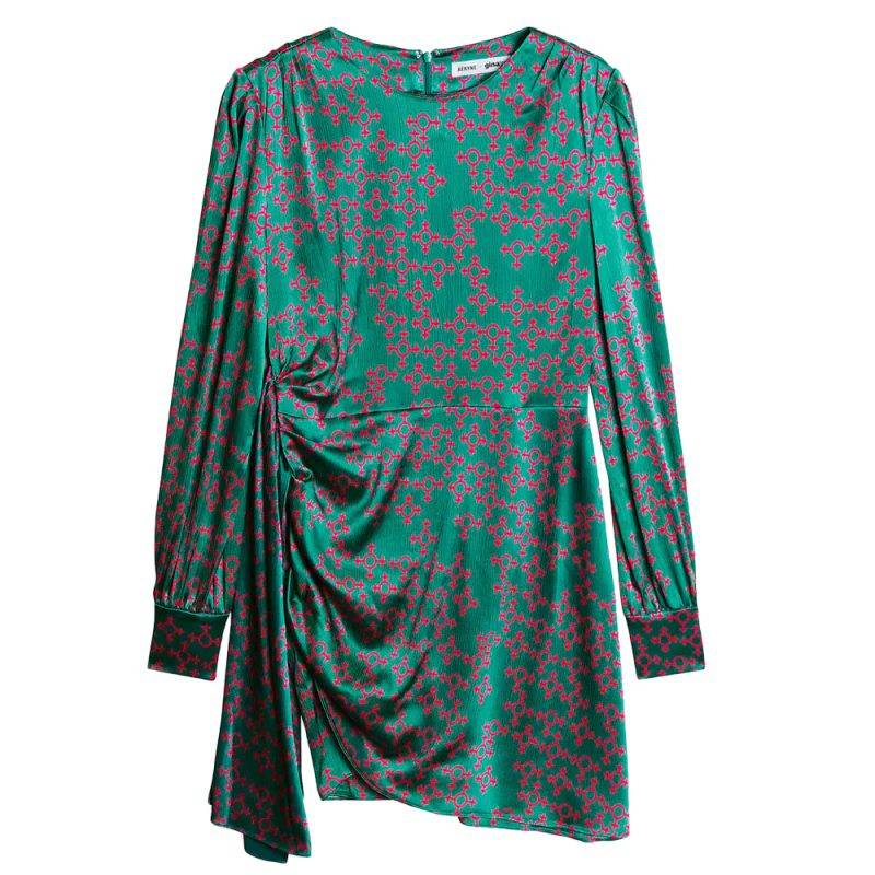 Klänning med kvinnosymbol från Gina tricot