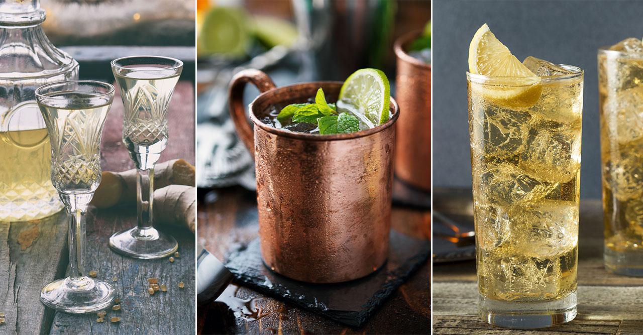 4 enkla och goda drinkar med ginger ale