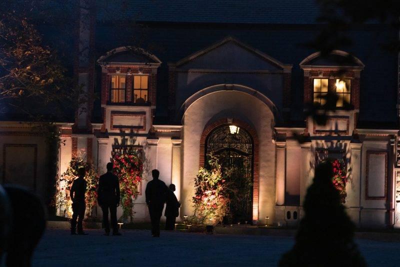 Utsidan av slottet, Jennifer Lawrence bröllop