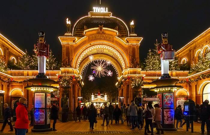 jul på Tivoli, Köpenhamn