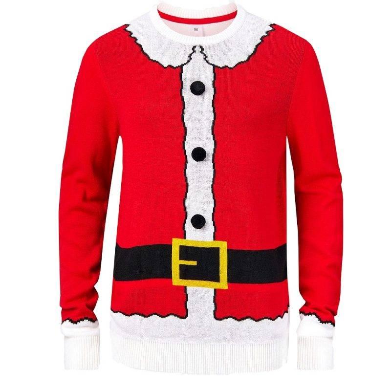 Jultröja som ser ut som jultomten från Ellos