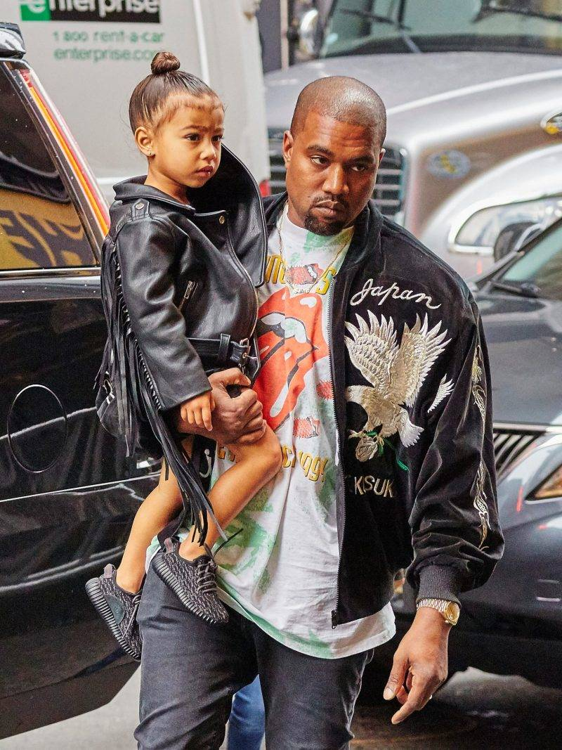 North West med Kanye West