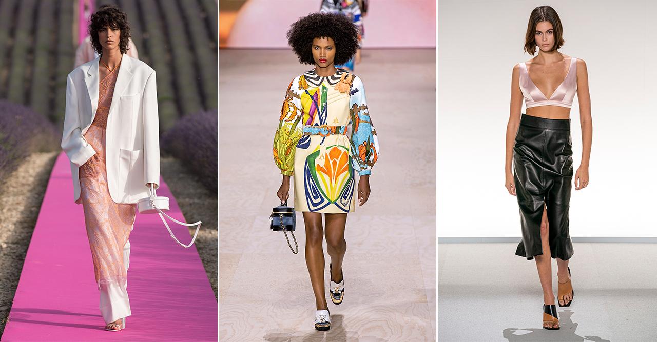 Här är de viktigaste modetrenderna våren 2020