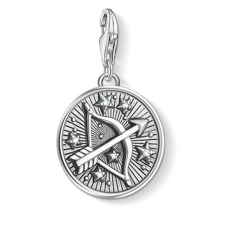 Hängsmycke från Thomas Sabo med stjärntecken, skytten i silver