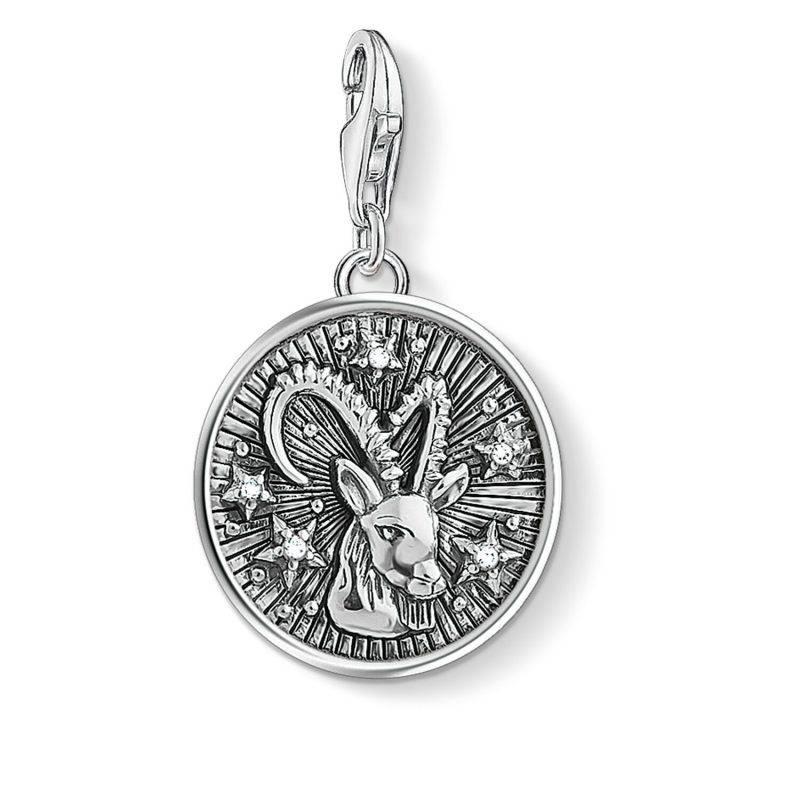 Hängsmycke från Thomas Sabo med stjärntecken, stenbocken i silver