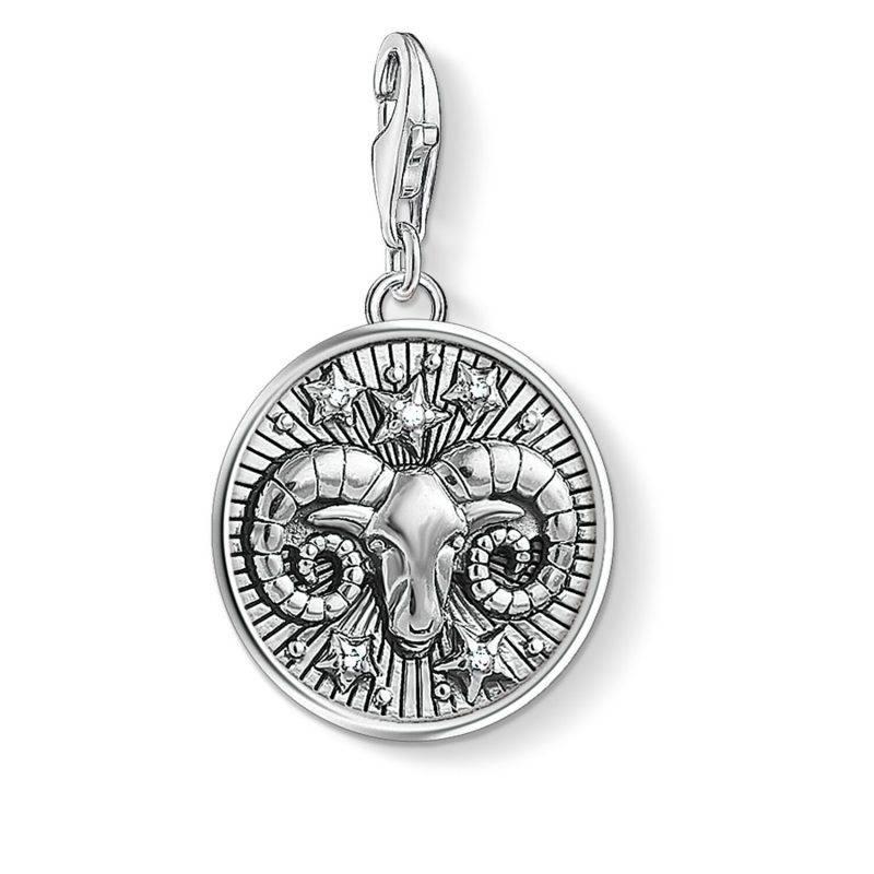 Hängsmycke från Thomas Sabo med stjärntecken, väduren i silver
