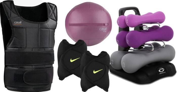 Olika vikter för alla typer av träning