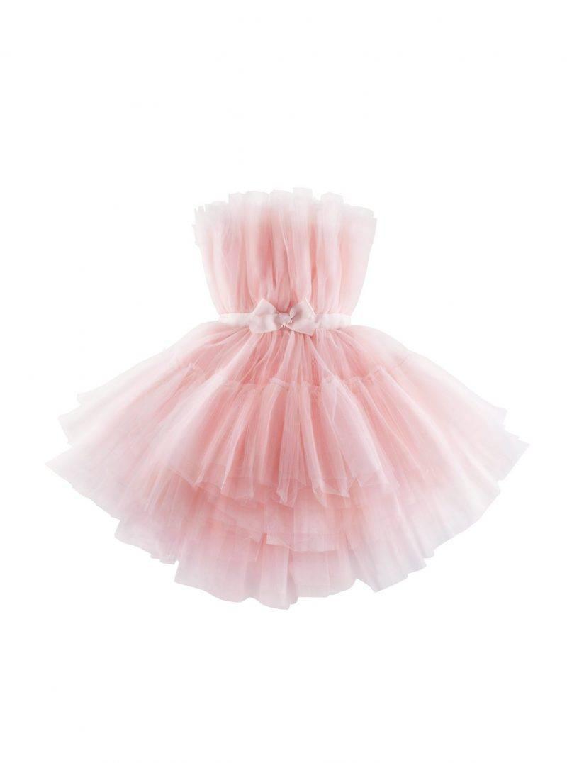 Magisk tyllklänning i rosa från Giambattista Valli x H&M.