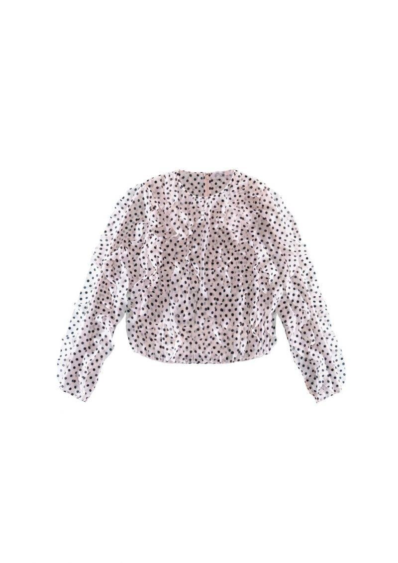 Prickig blus från Giambattista Valli x H&M. Klicka hem blusen här.