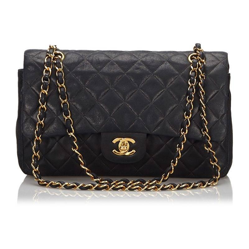 En klassiker som aldrig går ur stil. Double flap bag från Chanel.