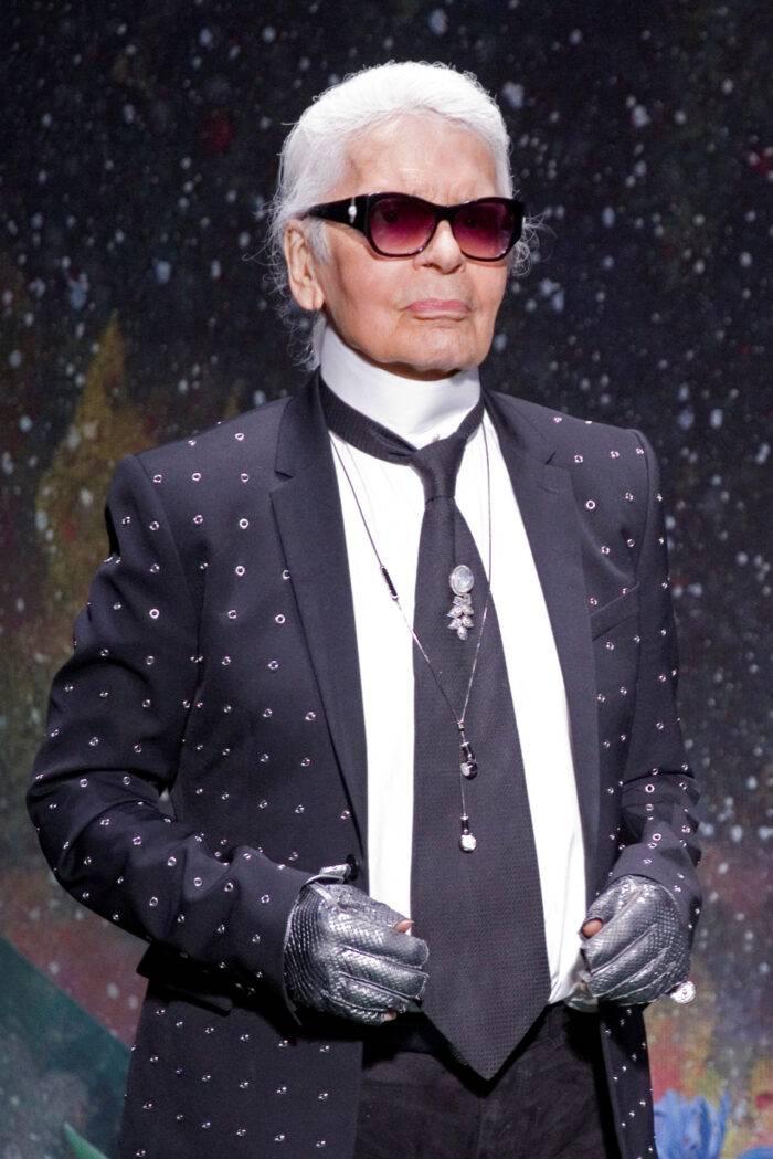 Karl Lagerfeld –en av de kändisar som gick bort under 2019.