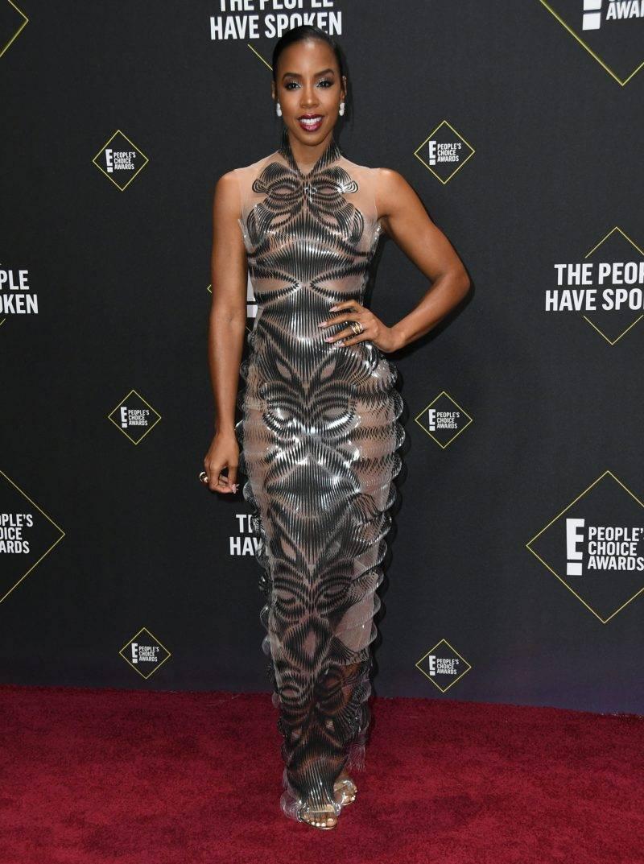 Kelly Rowland på röda mattan på People