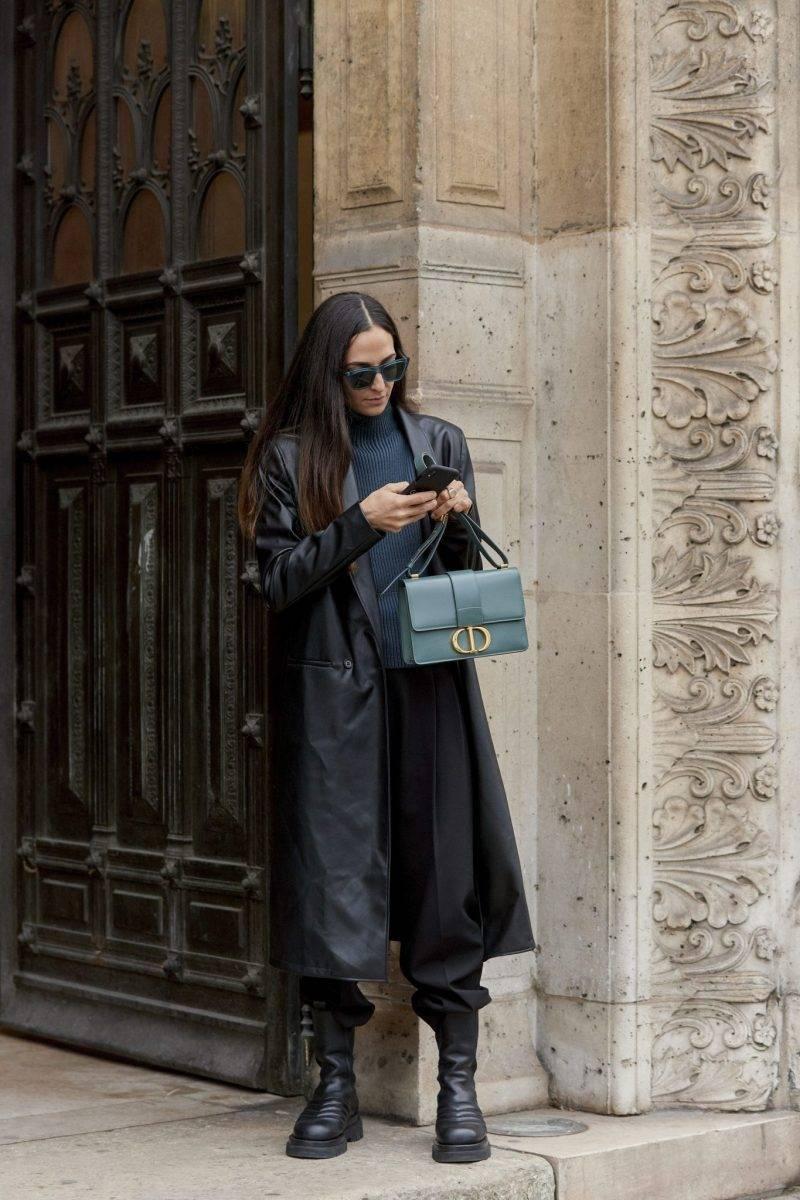 Streetstyleinspiration från Paris Fashion Week.