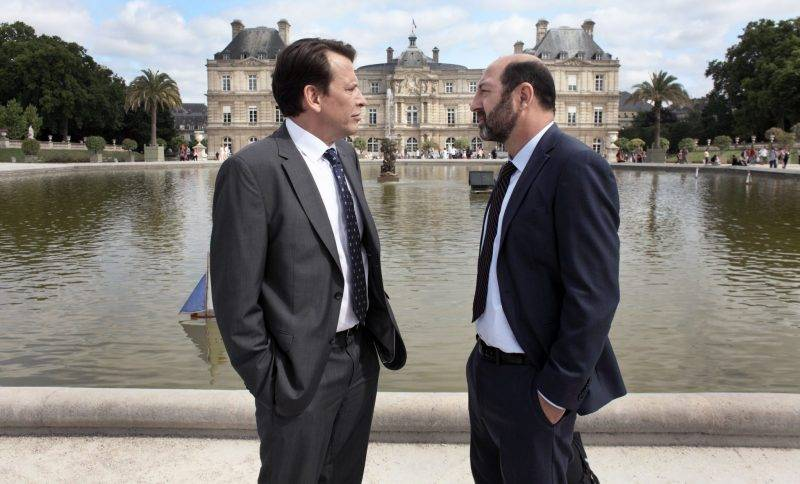 En bild från tv-serien Baron Noir. Den andra säsongen av Baron Noir har premiär på HBO den 18 december.