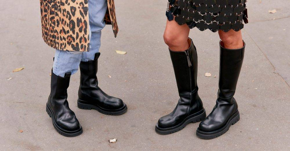 Chunky boots.