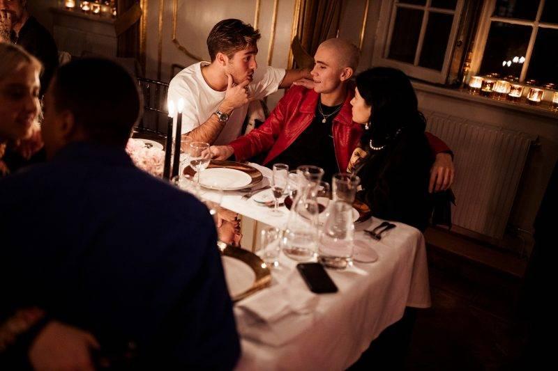Benjamin Ingrosso, Felix Sandman och Andrea Kallström