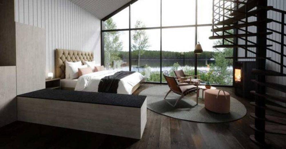 hotellrum i arctic bath