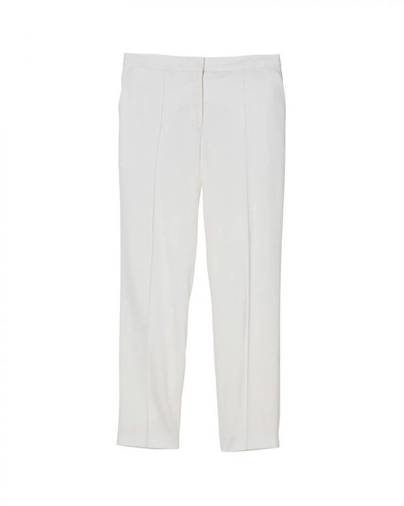 Vita kostymbyxor från By Malene Birger.