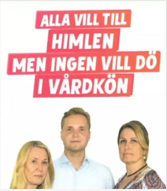 Sverigedemokraternas affisch som Timbuktu har stämt dem för.