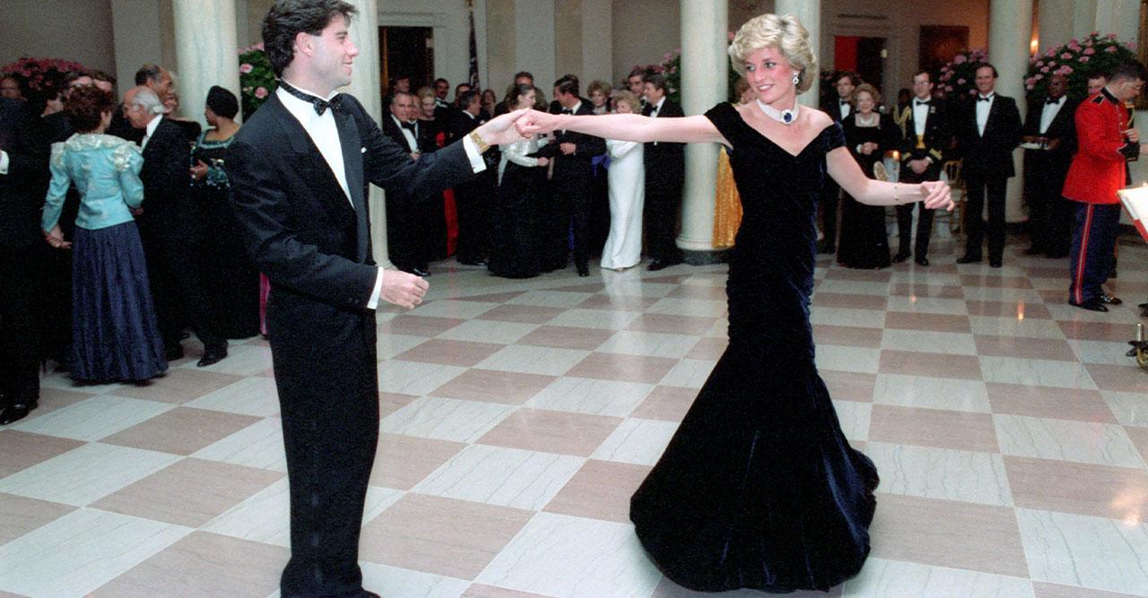 Prinsessan Dianas 80-talsklänning såld till miljonbelopp