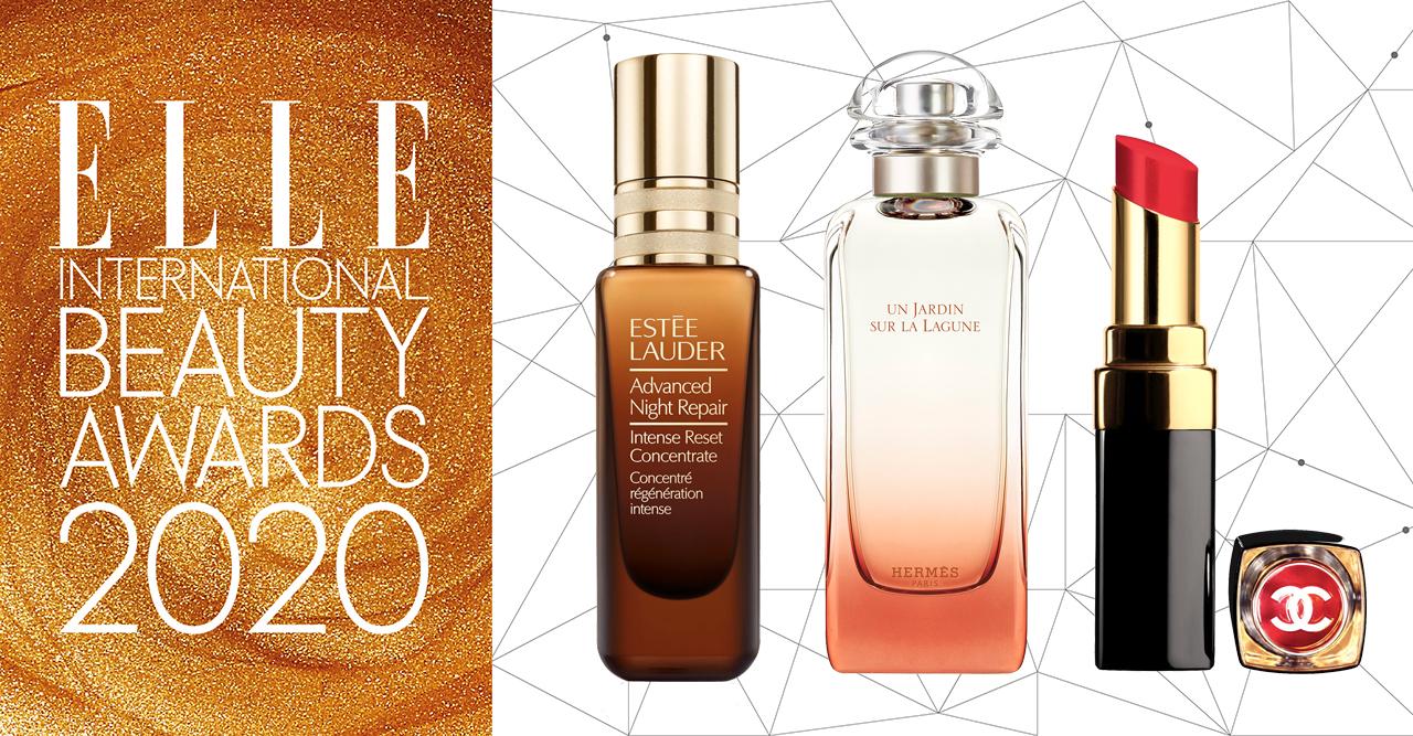 Vinnarna i ELLE International Beauty Awards 2020
