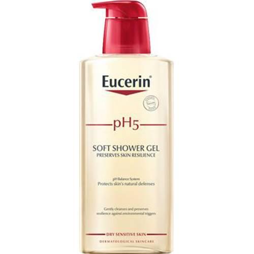 Eucerin duschkräm som ska återfukta huden