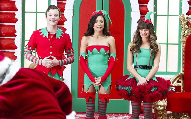 som dejtar vem på Glee