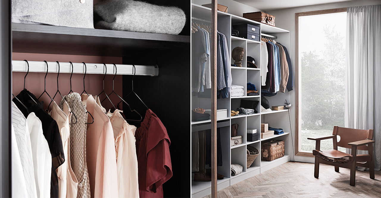 Få ordning i garderoben – förvaringsmissarna du ska undvika