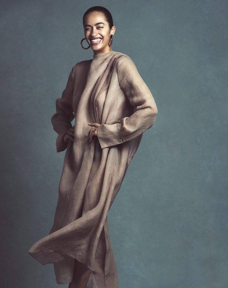 Festklänningar, brun från Alexander McQueen
