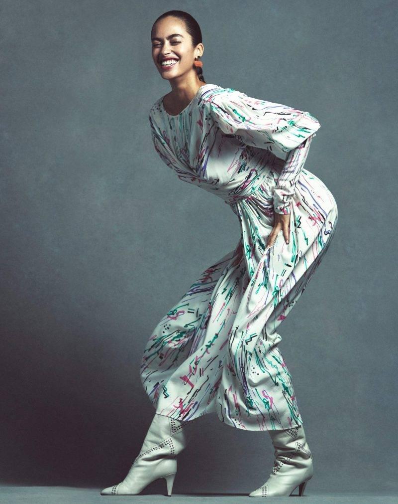 Festklänningar, mönstrad klänning från Isabel Marant