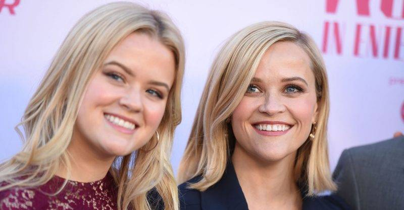 Ava Philippe och Reese Witherspoon