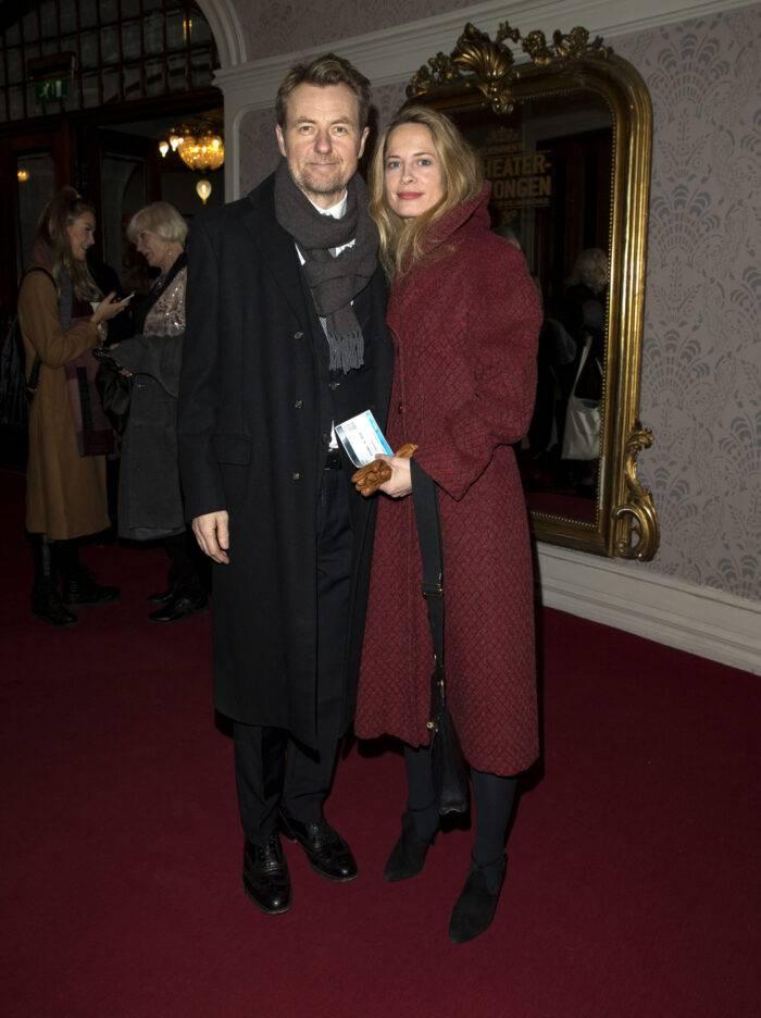 Fredrik Skavlan och Maria Bonnevie.