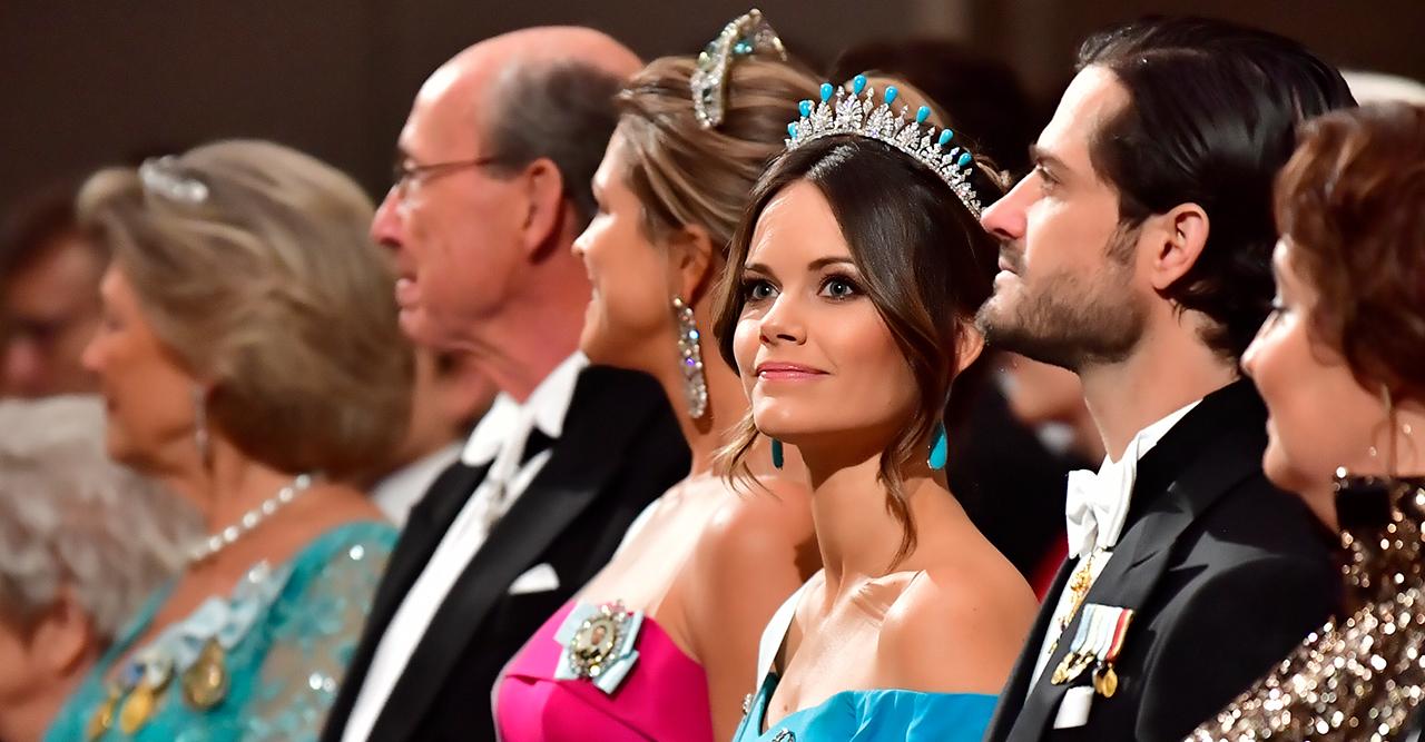 Allt om kungafamiljens juveler på Nobel 2019