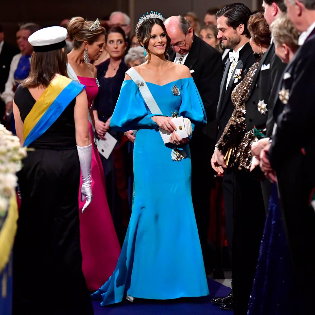 Prinsessan Sofia på Nobel 2019.