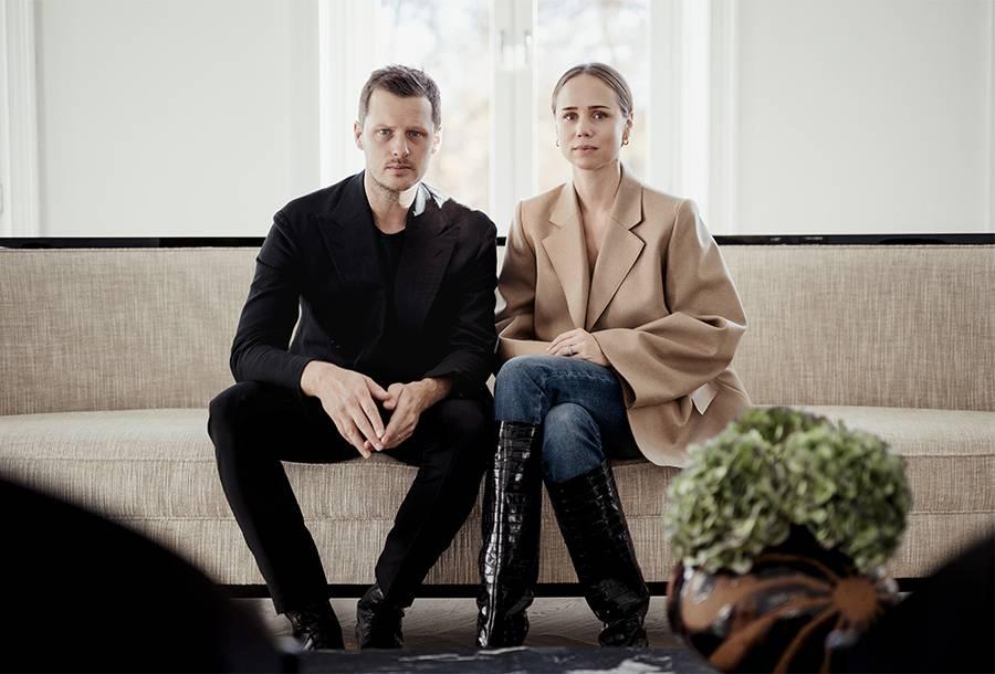 Elin Kling och Karl Lindman från Totême