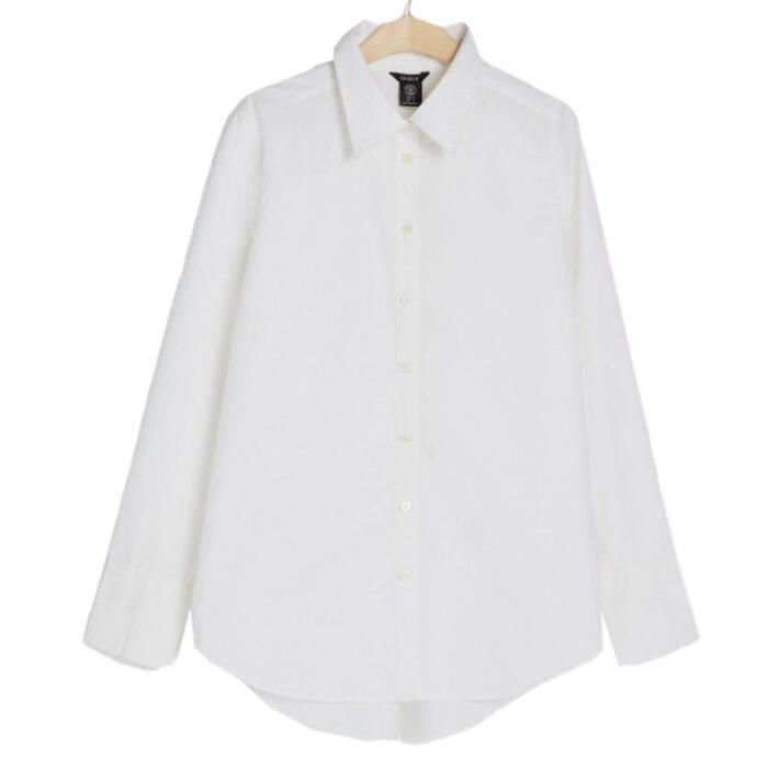 Vit skjorta från Lindex i bomull