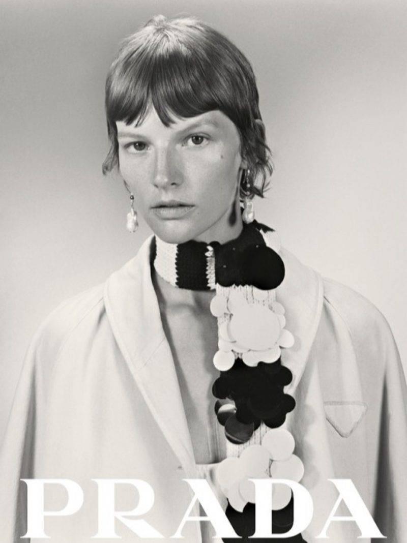 Sara Blomqvist för Prada