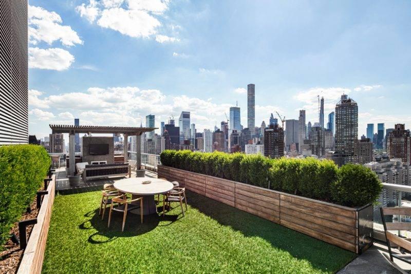 Jennifer Lawrence penthouse i New York har två terasser.