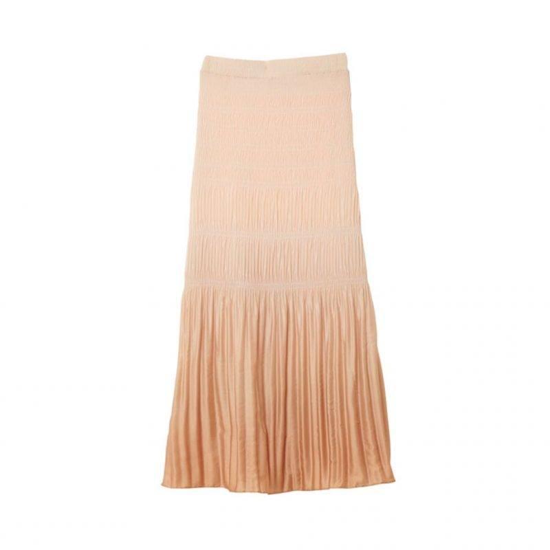 Aprikosfärgad kjol från Rodebjer.
