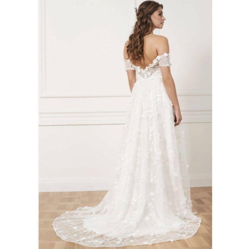 By Malina bröllopsklänning Michelle gown