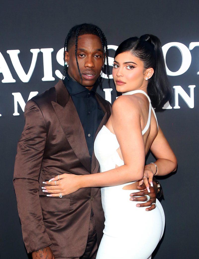 Kylie Jenner och Travis Scott fick barn i hemlighet