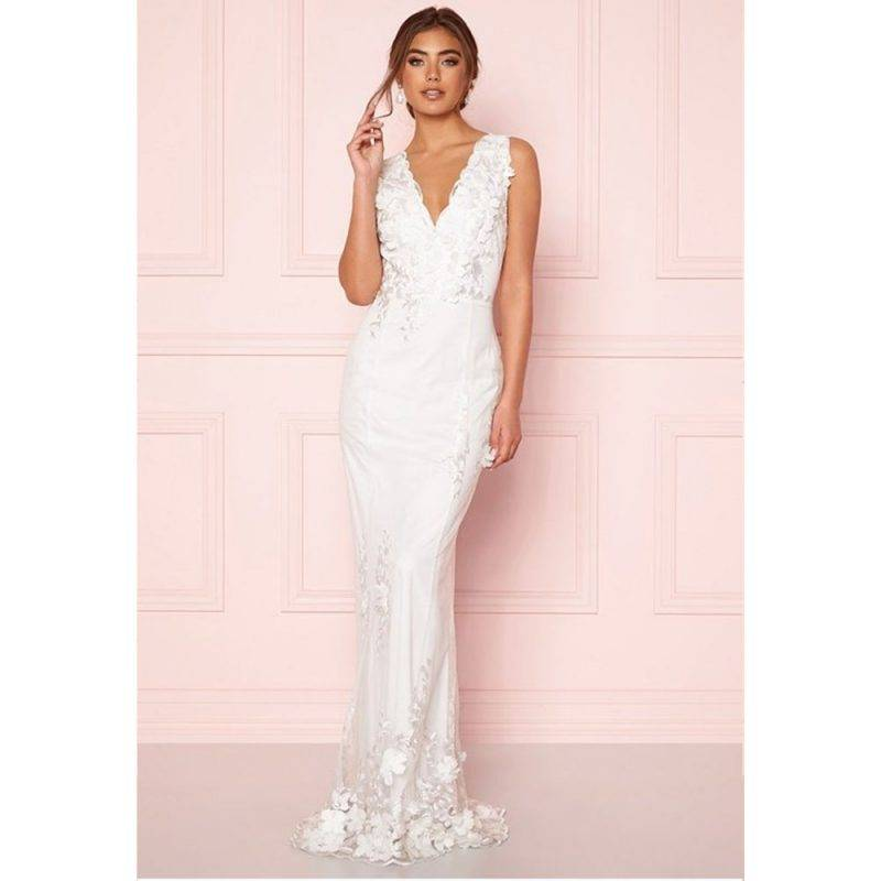 Moments of New York bröllopsklänning Oleana gown